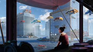 Future Earth by JonHrubesch