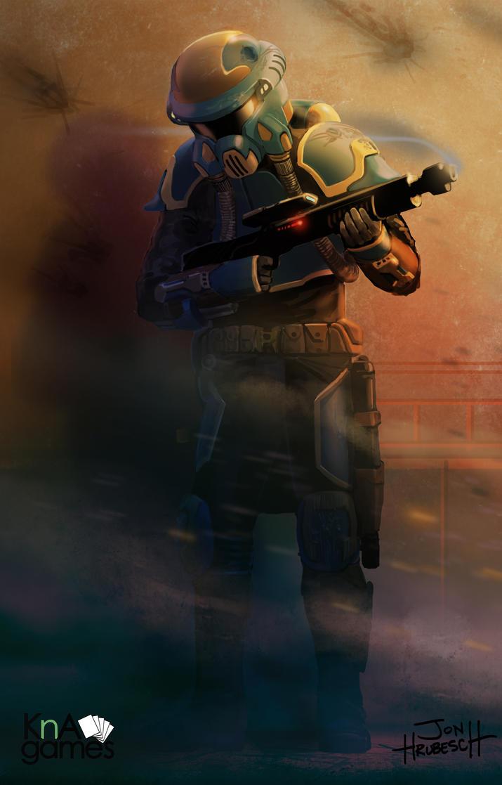 Bounty Hunter by JonHrubesch