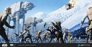 Rebel Escape by JonHrubesch