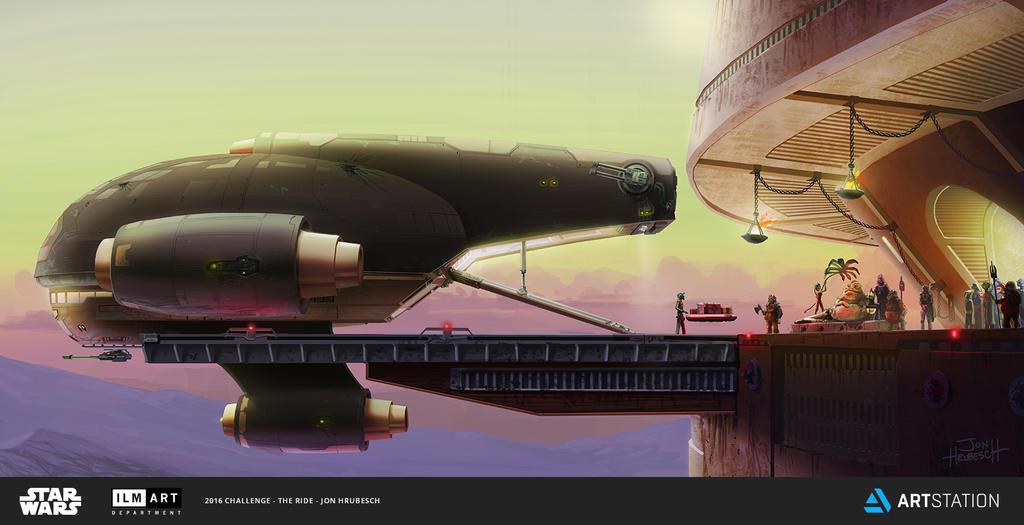 Greedo Cargo Cruiser by JonHrubesch