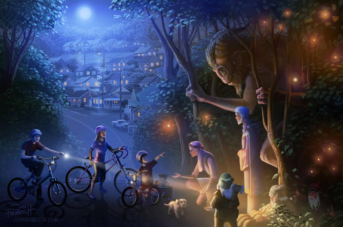 Moonlight Adventure by JonHrubesch