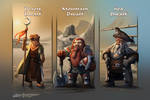Dwarf Subraces