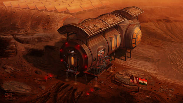 Martian Base