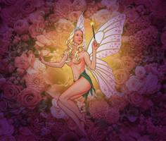 Rose Fairy by JonHrubesch