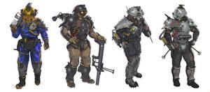 Lunar Runner - Pirate Suit Designs