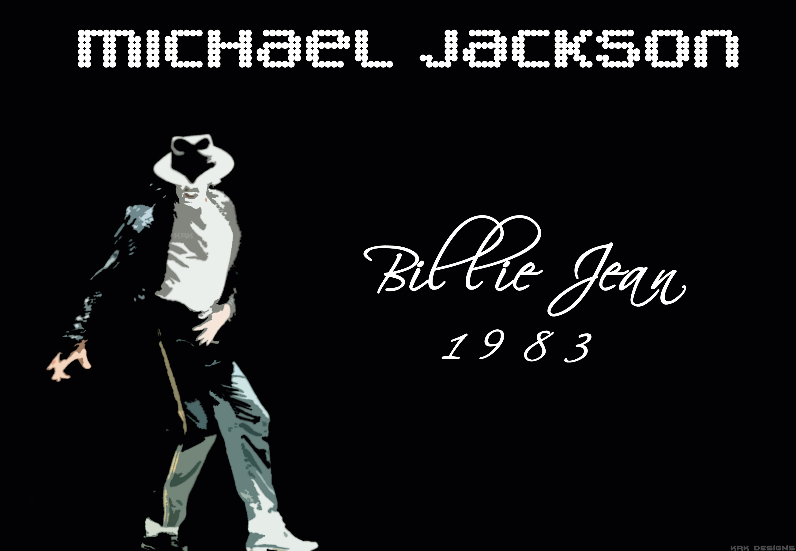Michael Jackson - Billie Jean by krkdesigns