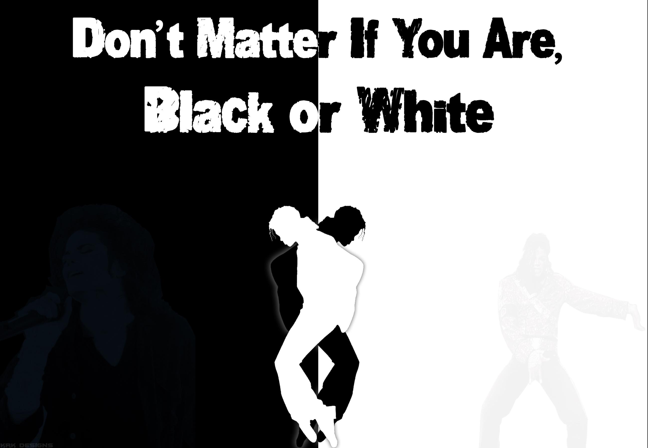 Black or white michael jackson essay