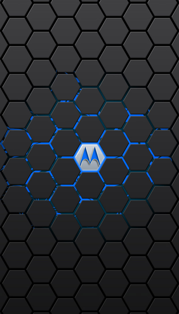 Motorola Neon Blue Wallpaper By Krkdesigns On Deviantart