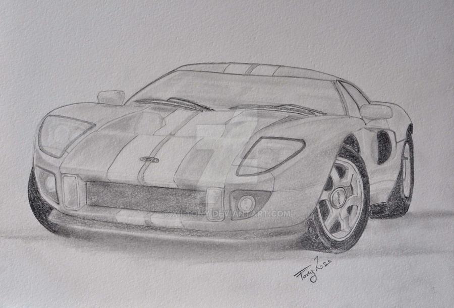 Ford Gt By Xiltony