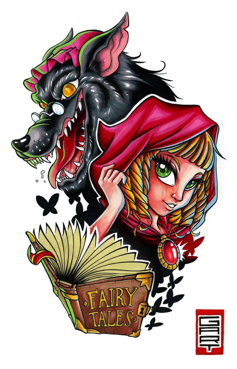 red hood fairy tale
