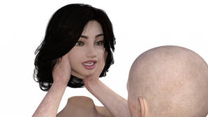 Removed Head by Man