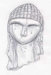 Venus of Brassempouy by Moldave
