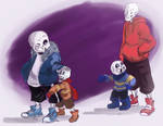 Papyrus look, little version of you