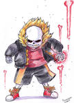 Fell Sans ready to attack