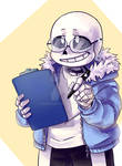Sans wants to ask for something