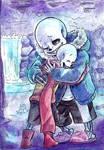 Skelebros hug