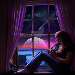 Pondering Under The Stars