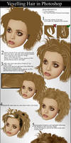 Vexelling Hair by vectortutorial
