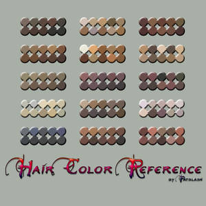Hair color reference