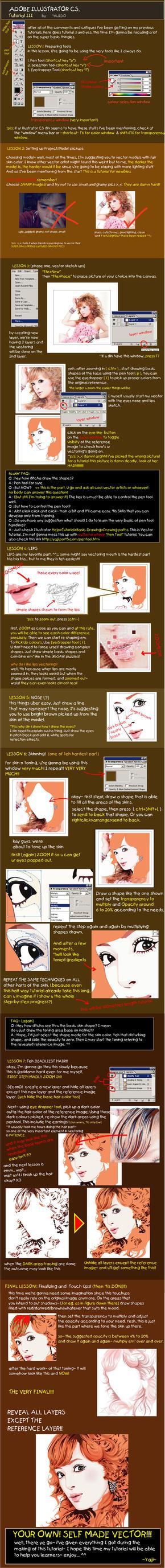 tutorial Illustrator by vectortutorial