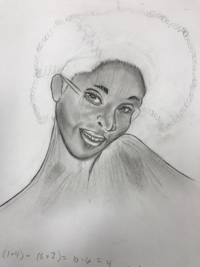 Beauty Sketch by Zamen40