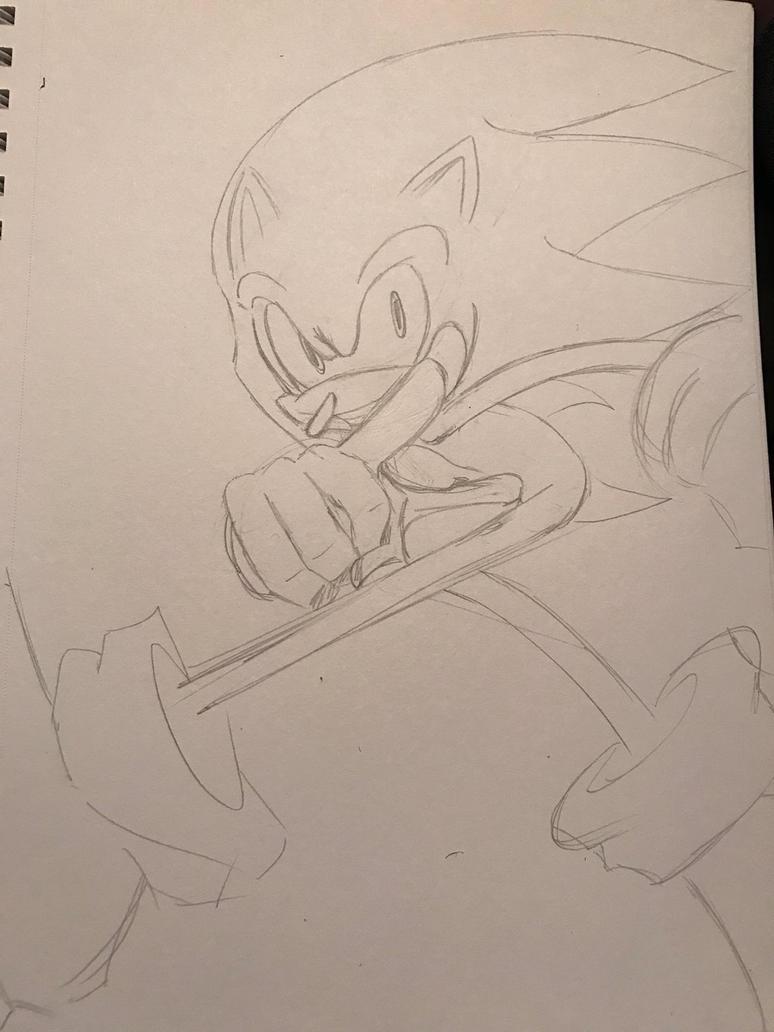 Dashing By Sonic by Zamen40