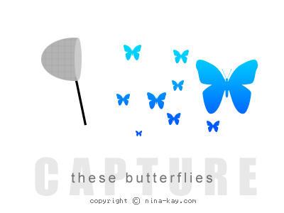 Capture these butterflies by desirexstylez