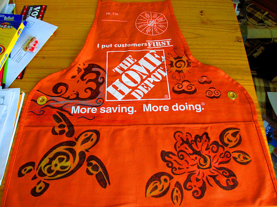Home Depot Apron By Meancheen On Deviantart