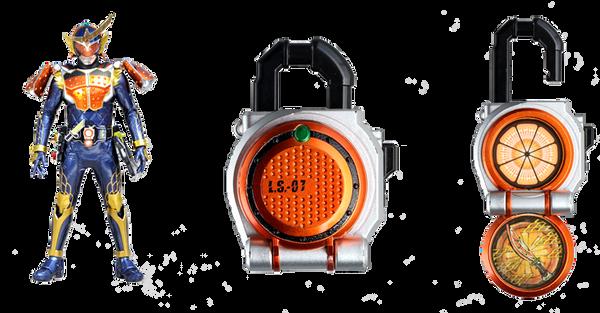 Kamen Rider Gaim - Lockseed 01 ORANGE by XMarcoXfansubs