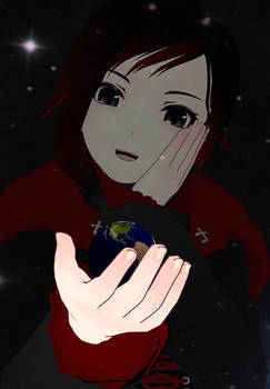 World in her Hand