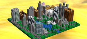 Lego Skyline by ACity