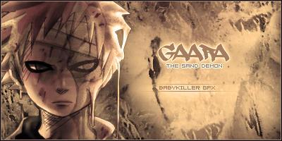 Gaara Sand Demon