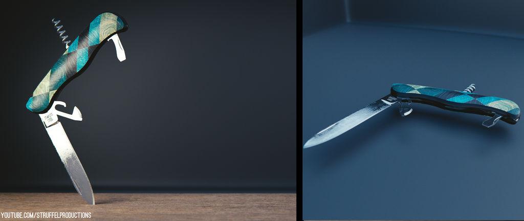 A Penknife (Blender 2.78)
