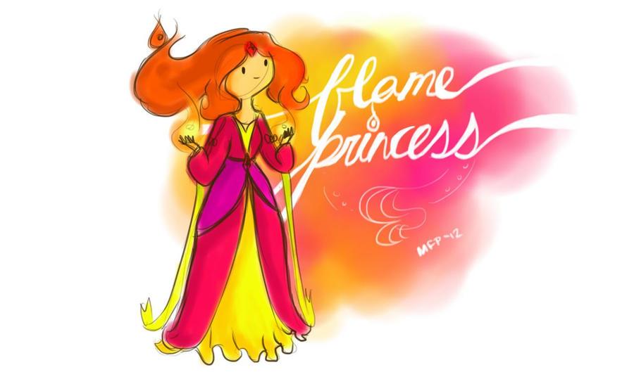 Flame Princess Formal by Vanilla-Fireflies
