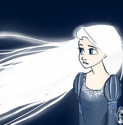 Rapunzel and the Frost by Vanilla-Fireflies