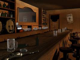 Western Bar by troyjinman