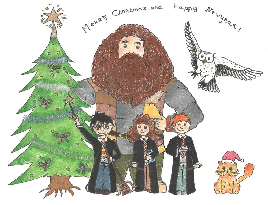 Harry Potter - Merry Christmas By Snoopy114 On DeviantArt