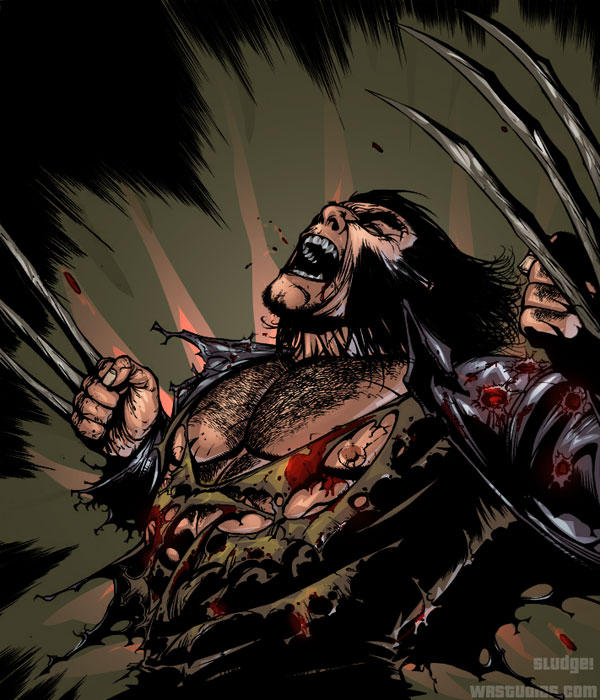 Wolverine colors by sludger