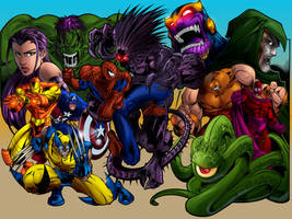 Marvel Wallpaper by sludger