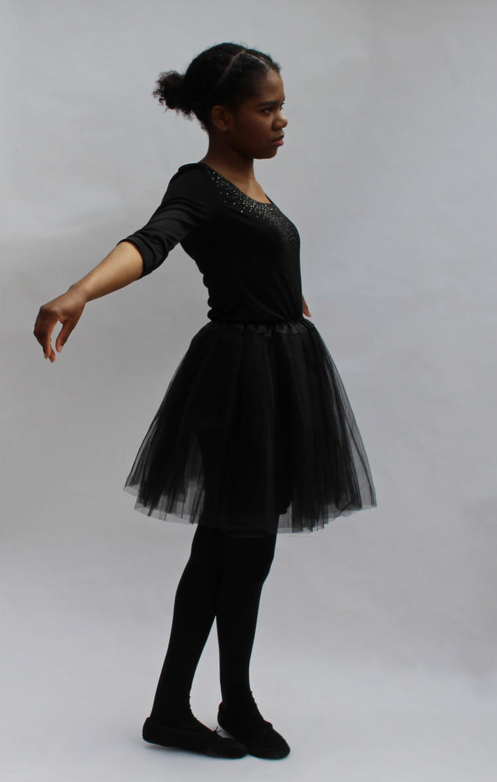 Black Ballerina Stock 16 by Lency28