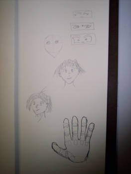 Eyes, Faces, and a Hand