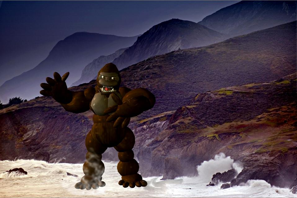 Cg Monster 2: King Kong 62' by Kyotita