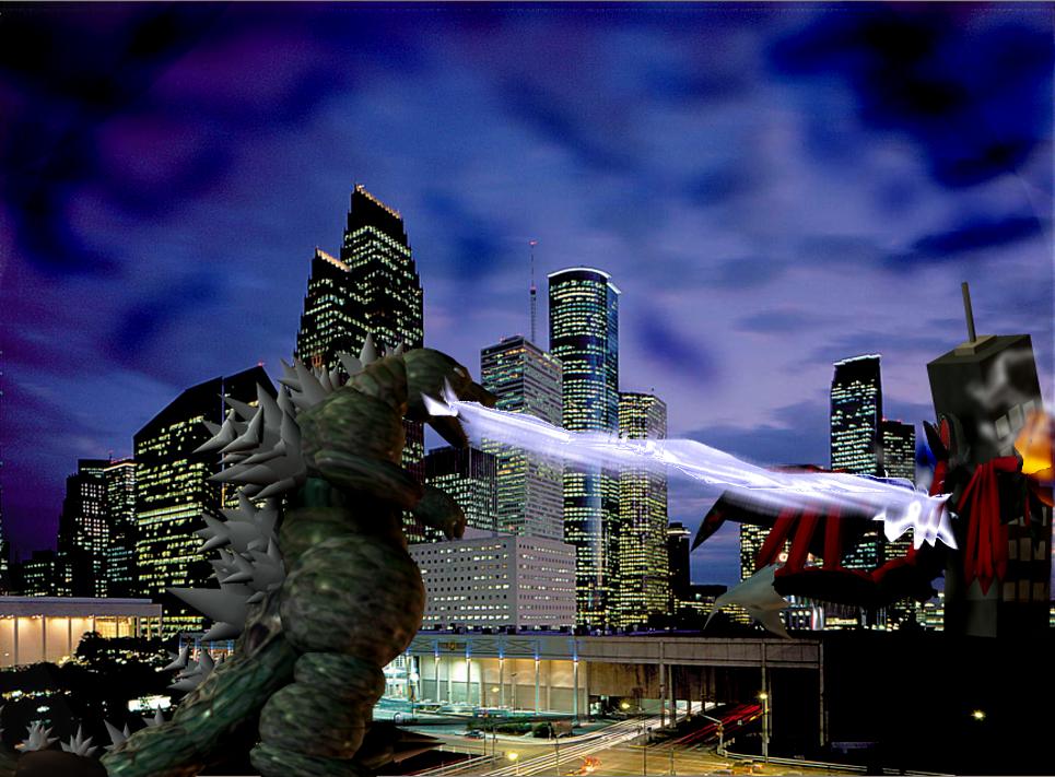 Godzilla VS Kyotita 3 by Kyotita