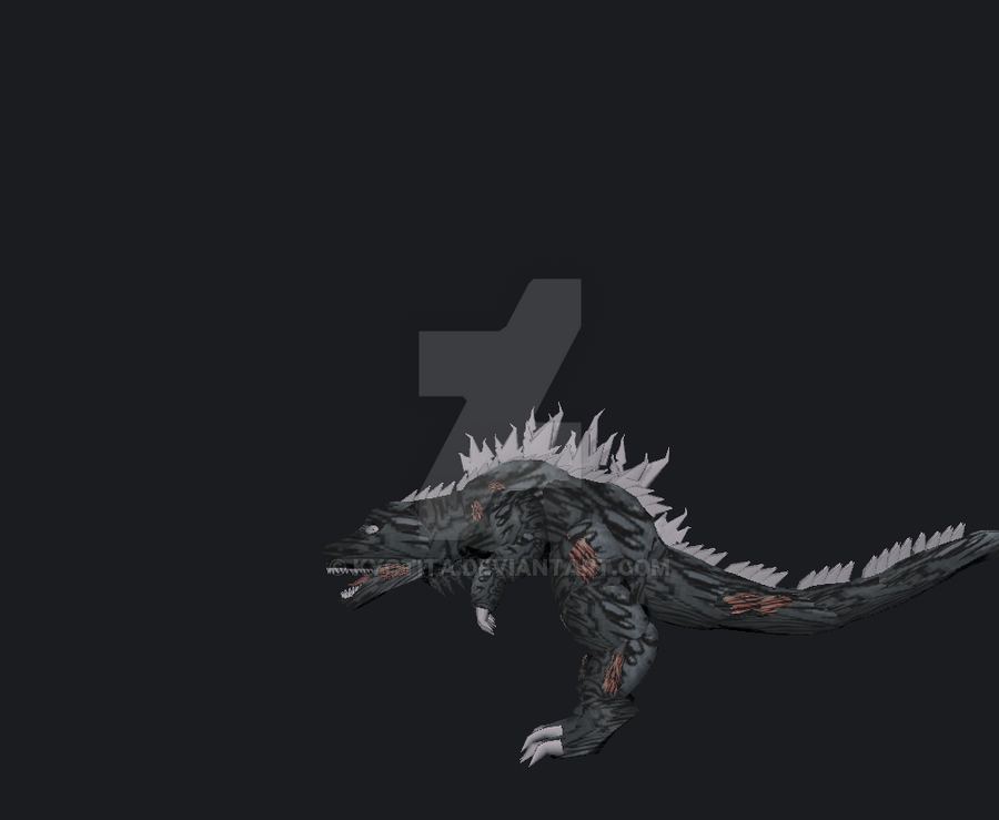 FanFilm Godzilla request step4 by Kyotita