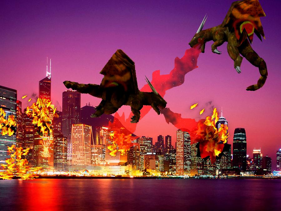 Dual Dragons by Kyotita