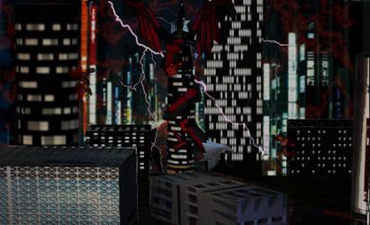 Kyo wraps a building! by Kyotita
