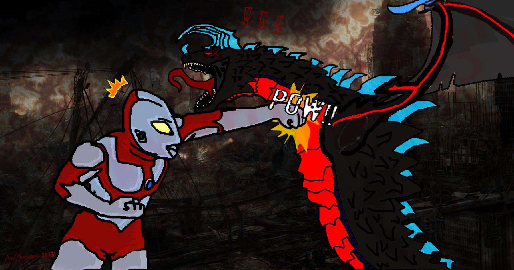 Kyo vs Ultraman! by Kyotita