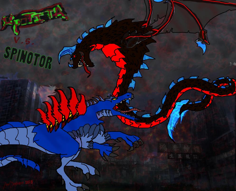 Spinotor vs Kyotita! by Kyotita