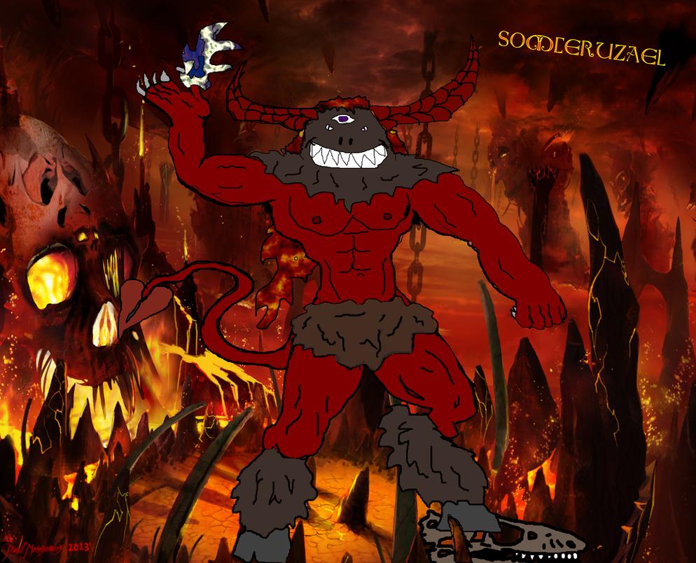 Somceruzael keeper of the 12 Hells by Kyotita