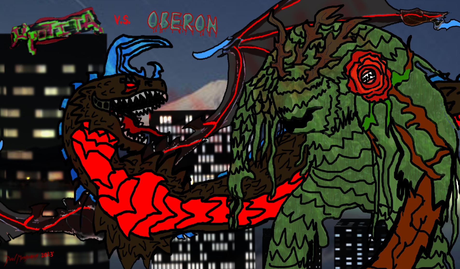 Kyo vs Oberon by Kyotita
